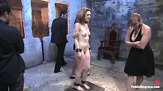 Brand New Girl Gets Her Porn Intitation On Public Disgrace - PublicDisgrace