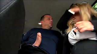 German BBW Milf Fucked In The Back of a Car