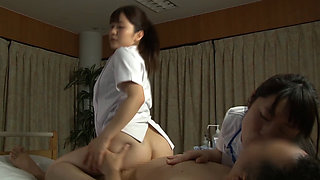 Japanese Nurse Threesome Service