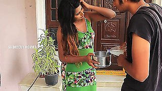Indian House Wife Romance With Milk Boy