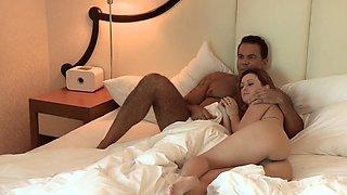 Karlie Montana cheats on her husband with a hot tattooed guy