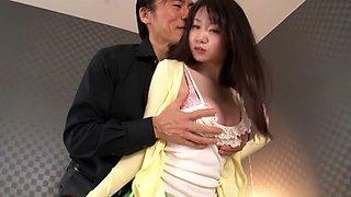 Fabulous Japanese girl Aika Yumeno in Hottest JAV censored Swallow, College video