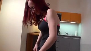 Exquisite Czech Kitten Gets Tempted In The Shopping Centre A