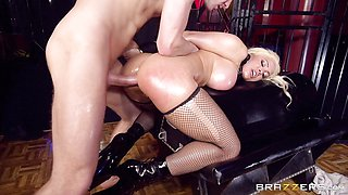 Luna Star ass crammed balls deep