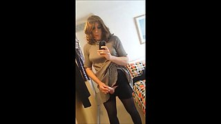 Alison Thighbootboy - Sexy Masturbating Crossdresser