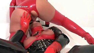 rubber lesbian
