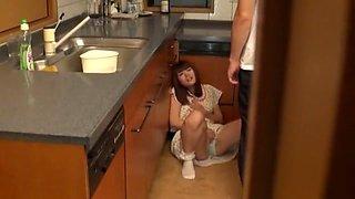 Hottest Japanese girl Airi Hayasaka, Chika Arimura, Imai Natsumi in Crazy Kitchen JAV clip