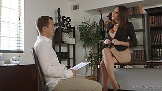 Jaclyn Taylor Is Often Having Casual Sex With Her Boss, While They Are Alone In The Office