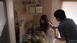 A Japanese Housewife Nextdoor Cuckold Fuck