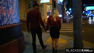 BLACKEDRAW BF with cuckold fantasy shares blonde girlfriend