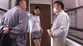 Amazing Japanese girl Maki Amemiya in Crazy Cunnilingus, Wife JAV clip