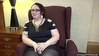 Chubby girl get a bbc