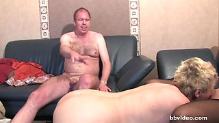 Bbvideo.com German bi milfs sharing a hard prick