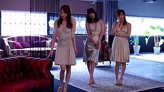 Yuma Asami, Miku Ohashi, Rin Sakuragi in THE PREMIUM VIP aka 5th Anniversary Memorial Special part 4.3