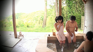 Cuckold Fuck In A Japanese Onsen Spa 2-14
