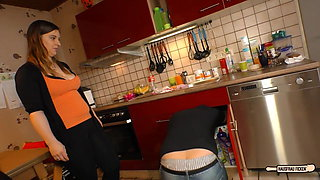 Hausfrau Ficken - Steamy sex with amateur German housewife