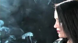 Best homemade Brunette, Smoking sex scene