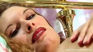 Red Lips MILF Housewife Seduction