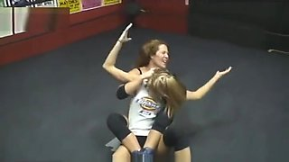 Amanda Barefoot Ragdoll Wrestling
