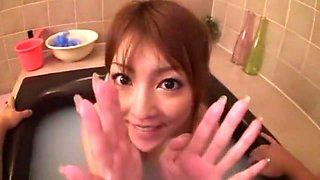Amazing Japanese model Kaede Matsushima in Incredible Stockings/Pansuto, Medical JAV video