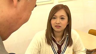 When i got remarried she had these beautiful schoolgirl sisters!!(english subbed)