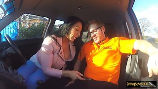 rebel teen babe candy kane gets deep fucking in the car