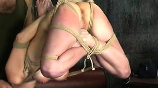 Young chicks astounding servitude scenes on cam