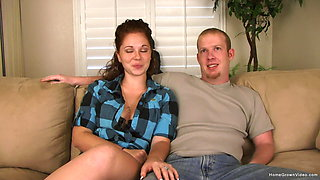Newlywed couple wants to make their first video