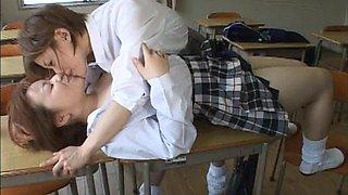 Japanese Lesbian Kiss Comp 2