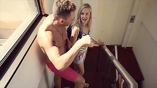 Swinger house - Surprise Visitor in Barcelona - Little Caprice