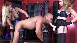Fetish Fuckery Double Strapon with Nikki Whiplash