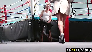 mother of the bride sucking the grooms large rod
