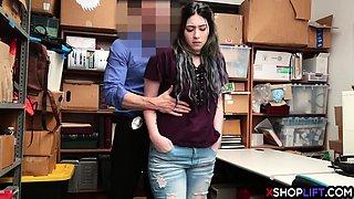 Stealing stepdaughter teen got punished for shoplifting