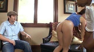 Best pornstar Kaci Star in exotic latina, interracial adult video
