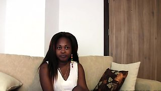African porn model is confident of job as she endures an