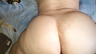 Filling my Redhead PAWGs holes with cum while he's at work!