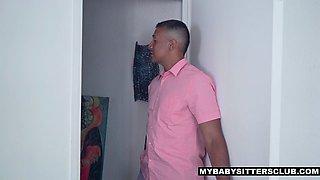 MyBabySittersClub - Hot Babysitter Punished With Cock