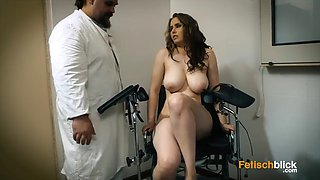 Busty girl at the doctor (part 1)