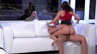 (rachel starr) Sluty Wife Like Cheating Sex On camera clip-21