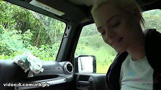 Elsa Jean in You Got A Little Frisky In The Car - ATKGirlfriends