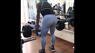 Big Ass Brazilian Muscle Booty Workout!