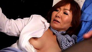 Horny Japanese chick Sayuri Kotose in Exotic JAV censored Fetish, Hairy scene