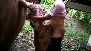 Desi MILF Getting fucked by Neighbor uncle