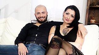 CASTING ALLA ITALIANA - Alternative babe in anal audition