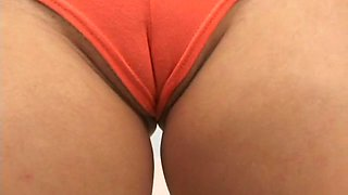 a wet pussy with camel toe video