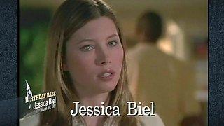 Jessica Biel Unwraps Her Birthday Presents - Mr.Skin