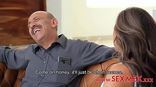 Beautiful Woman, Silvia Santez Is Amusing Two Handsome Guys With Her Wet Pussy And Sensual Lips