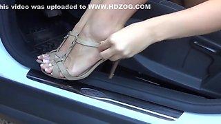 beautiful girl feet