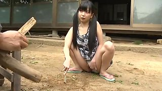 Japanese school girl seduce guy 2