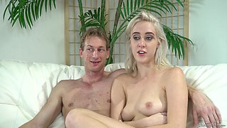 Cadence Lux is a cute blonde who loves sharing her sex stories